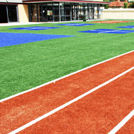 Artificial grass for education