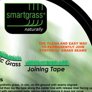 Artificial grass joining tapes