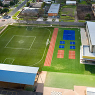 Synthetic turf for schools
